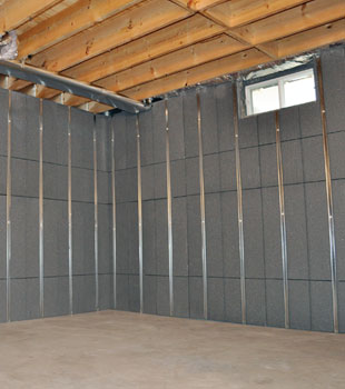 youll love this innovative way to insulate and finish your basement walls
