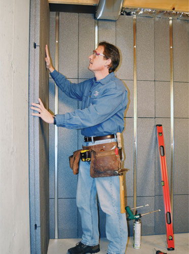 ll love this innovative way to insulate and finish your basement walls