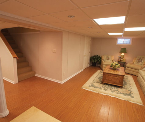 Wood Basement Flooring Pittsburgh PA Cool Basement Remodeling Pittsburgh
