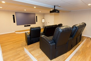 Basement theater installed in Monroeville