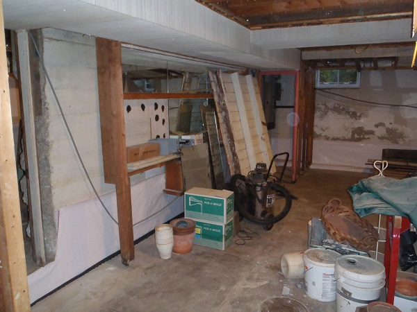 basement remodeling pittsburgh. Wet Basement Before TBF Remodeling Pittsburgh